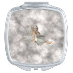 Angel in the Clouds Makeup Mirror
