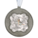 Angel in the Clouds Pewter Ornament