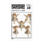 Angelic Angels Postage Stamp