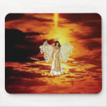 Angels in the Sky Mouse Pad