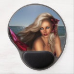 Beautiful Mermaid Gel Mouse Pad
