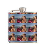 Beautiful Mermaid Hip Flask