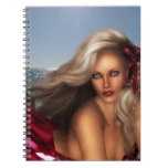 Beautiful Mermaid Spiral Notebook