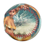 Blonde Mermaid Baseball