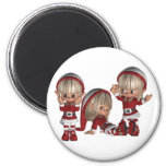 Christmas Elves Magnet