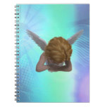 Crying Angel Spiral Notebook