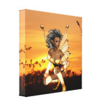 Elf at Dusk Canvas Print