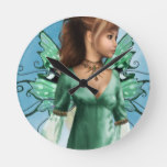 Fairytales Round Clock