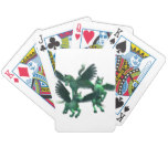 Flying Pegasus Bicycle Playing Cards