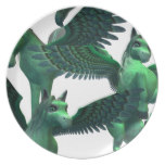 Flying Pegasus Dinner Plate