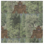 Greek Minotaur Fabric