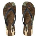 Greek Minotaur Flip Flops
