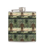 Greek Minotaur Hip Flask