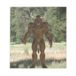 Greek Minotaur Notepad