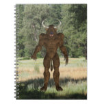 Greek Minotaur Spiral Notebook