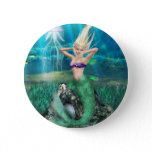 Magical Mermaid Button