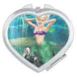 Magical Mermaid Compact Mirror