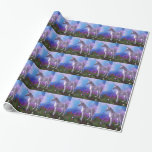 Majestic Unicorn Wrapping Paper