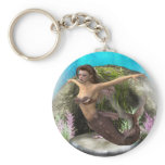 Mermaid Diva Keychain