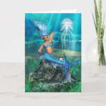 Mermaid Greeting Card