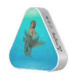 Mermaid in the Deep Blue Sea Bluetooth Speaker