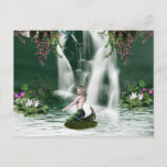 Mermaid Shower Postcard
