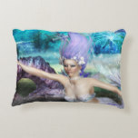 Mermaid Swimming Accent Pillow