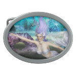 Mermaid Swimming Belt Buckle