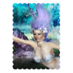 Mermaid Swimming Card