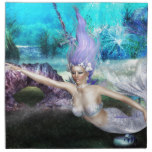 Mermaid Swimming Cloth Napkin