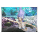 Mermaid Swimming Cloth Placemat