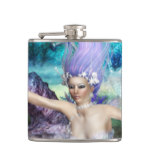Mermaid Swimming Hip Flask