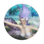 Mermaid Swimming Paper Plate