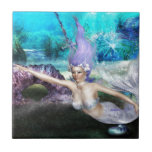 Mermaid Swimming Tile