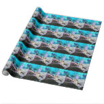 Mermaid Swimming Wrapping Paper