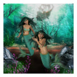 Mermaid Twins  Poster