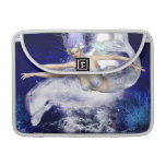 "Mermaid with Dolphin  13"" MacBook Sleeve"