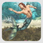 Mermen  Stickers