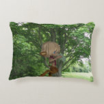 Piping Satyr Accent Pillow