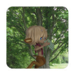 Piping Satyr Beverage Coaster