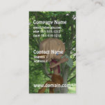 Piping Satyr Business Card