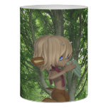 Piping Satyr Flameless Candle
