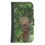 Piping Satyr Galaxy S4 Wallet Case