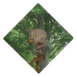 Piping Satyr Graduation Cap Topper