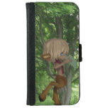 Piping Satyr iPhone 6/6s Wallet Case