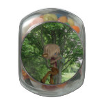 Piping Satyr Jelly Belly Candy Jar