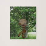 Piping Satyr Jigsaw Puzzle