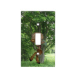 Piping Satyr Light Switch Cover