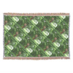 Piping Satyr Throw Blanket