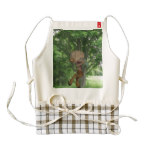Piping Satyr Zazzle HEART Apron